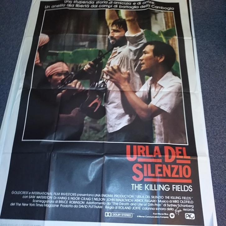 1984 Orginal schweiz Plakat Urla del silentio Sammeln