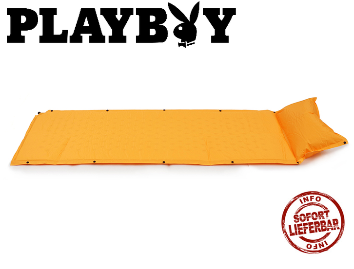 Details zu  Selbstaufblasbare Playboy Schlafmatte Schlafsack Matratze Camping Festival Openair Sport & Outdoor 2