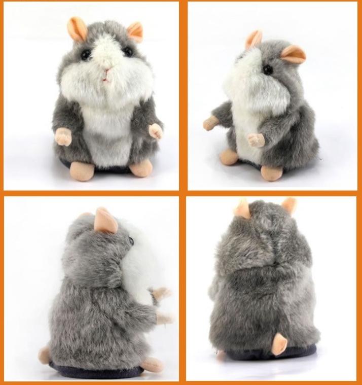Sprechender Hamster Plüsch Spielzeug Kind Kinder Süss Geschenk Herzig Talking Herzig Süss Spielzeuge & Basteln 2