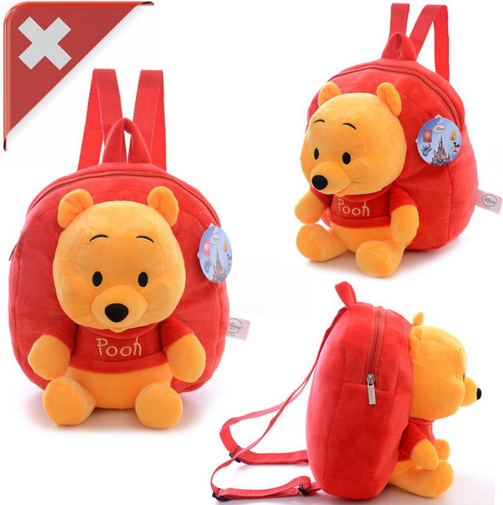 Disney Winnie the Pooh Pu der Bär Kind Kinder Plüsch Rucksack Tasche Kindergarten Primarschule Fan Baby & Kind