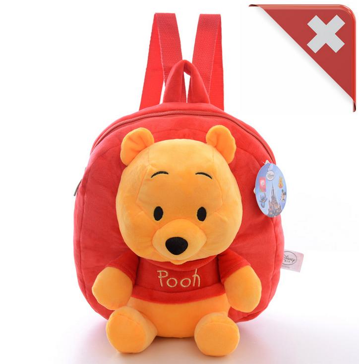 Disney Winnie the Pooh Pu der Bär Kind Kinder Plüsch Rucksack Tasche Kindergarten Primarschule Fan Baby & Kind 2