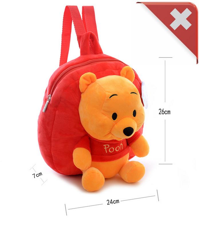 Disney Winnie the Pooh Pu der Bär Kind Kinder Plüsch Rucksack Tasche Kindergarten Primarschule Fan Baby & Kind 3