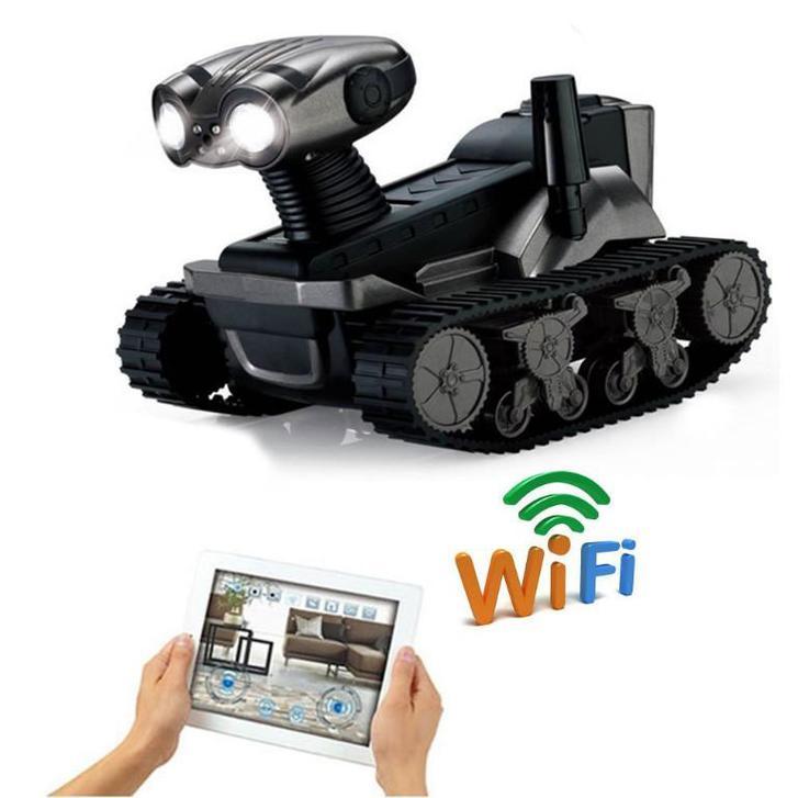 Ferngesteuertes WiFi Spionage Handy Smartphone Auto Panzer iPhone iPad Android Samsung HTC Tablet Telefon & Navigation 2