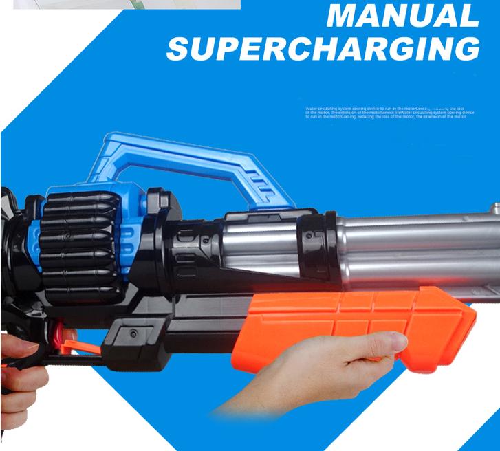 Gigantisches Wassergewehr Wasserpistole Wasser Pistole XXL Wasser Pistole Gewehr MG Spielzeug Kind Kinder Sommer Badi Spielzeuge & Basteln 2