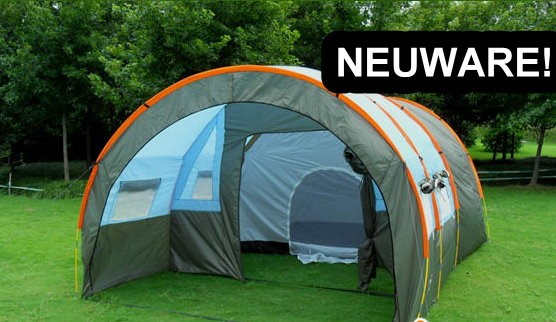 Grosses Tunnel Zelt Tunnelzelt Openair Festvial Camping Urlaub 5-8 Personen Schlafabteil Openair Festival Camping Campen Sport & Outdoor 2
