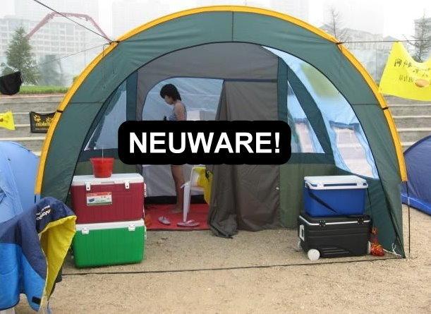 Grosses Tunnel Zelt Tunnelzelt Openair Festvial Camping Urlaub 5-8 Personen Schlafabteil Openair Festival Camping Campen Sport & Outdoor 3