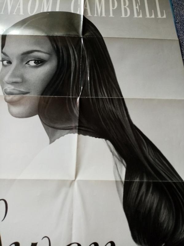 Plakat 1994 in A1 Naomi Campbell by LASCHET Sammeln 2