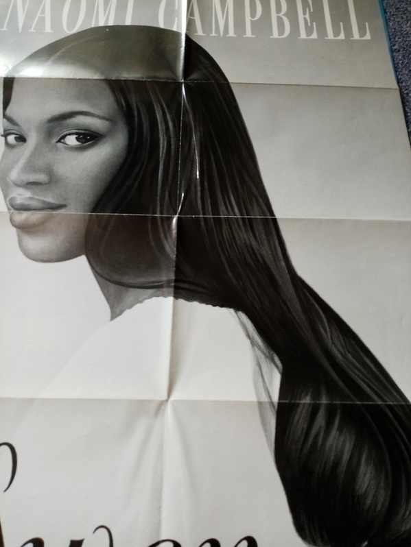 Plakat 1994 in A1 Naomi Campbell by LASCHET Sammeln 3