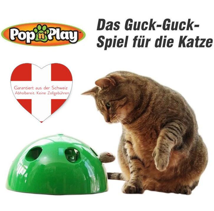 Pop Play Interaktives Katzenspielzeug Katzen Spielzeug Zuhause Unterhaltung Deheimu bekannt TV Werbung Tiere