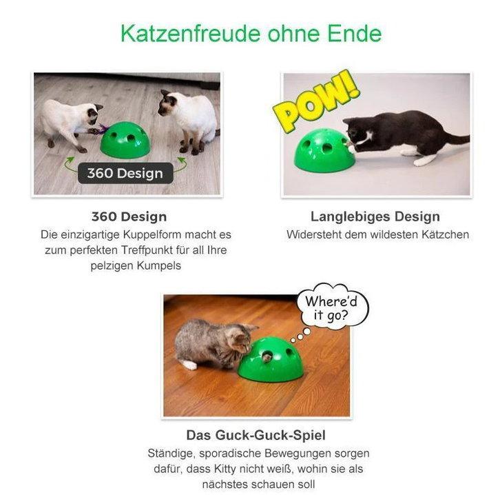 Pop Play Interaktives Katzenspielzeug Katzen Spielzeug Zuhause Unterhaltung Deheimu bekannt TV Werbung Tiere 4