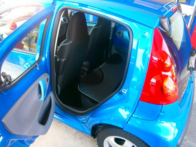 Peugeot 107 Fahrzeuge