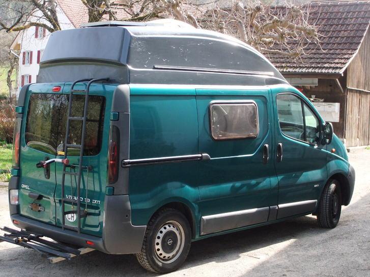 Camper Bus, ausgebaut für 2 Personen Fahrzeuge