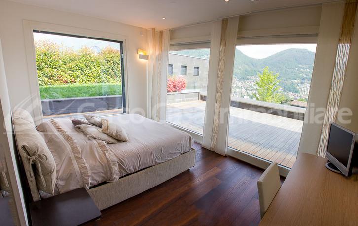 Luxuriöse 4,5 Zimmer Wohnung Porza Lugano. Blick ueber den See. Lugano 6900 Kanton:ti Immobilien 3