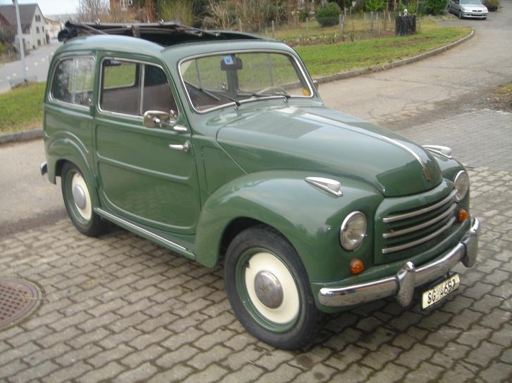 Fiat Topolino Bevedere 1952 Veteranenfahrzeug Fahrzeuge 2