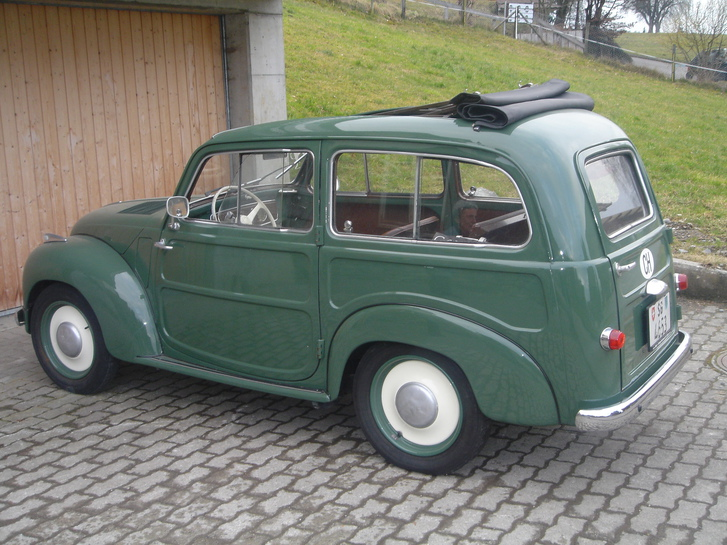 Fiat Topolino Bevedere 1952 Veteranenfahrzeug Fahrzeuge 3