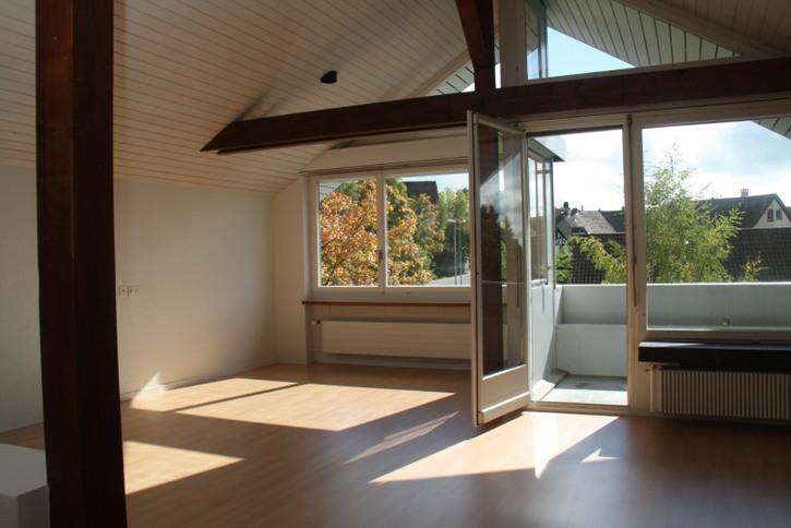 Wunderschöne 3.5-Zimmer-Dachwohnung im sonnigen Hausen am Albis 8915 Hausen am Albis Kanton:zh Immobilien