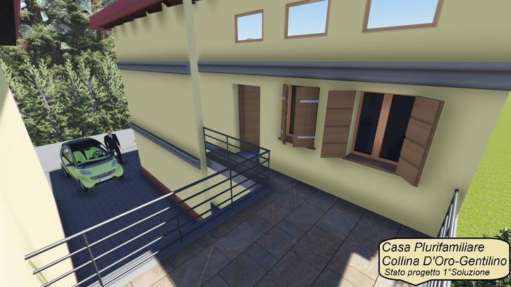 Appartamento in collina d'oro 6925 gentilino Kanton:ti Immobilien