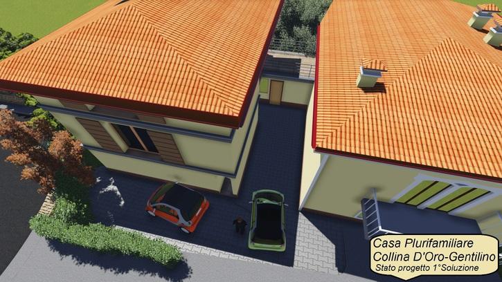 Appartamento in collina d'oro 6925 gentilino Kanton:ti Immobilien 2