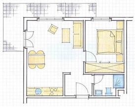 2.5-Zimmerwohnung möbliert 3818 Grindelwald Kanton:be Immobilien 2