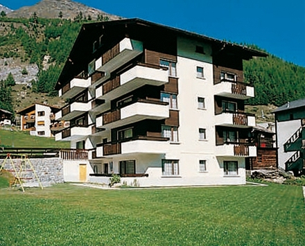 Dauermiete STUDIO direkt im Skigebiet von Saas-Fee 3906 Saas-Fee Kanton:vs Immobilien