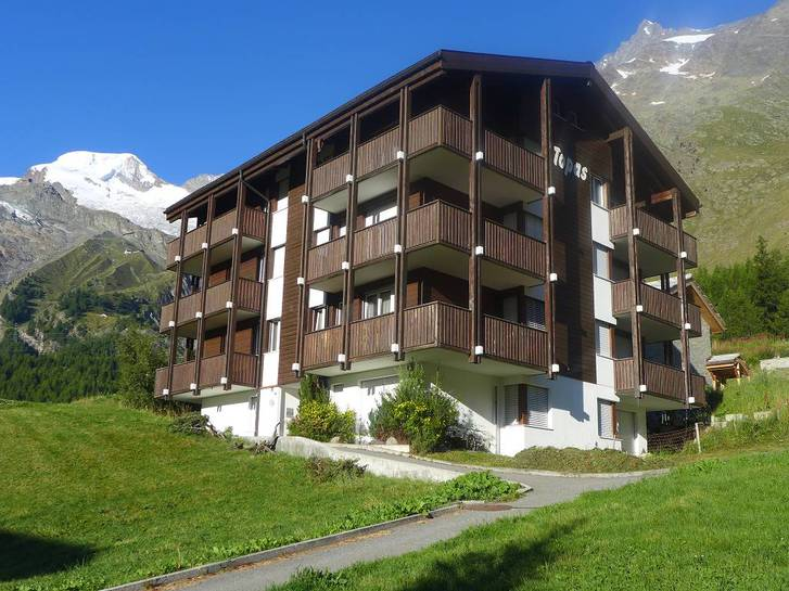 Saas-Fee 2 Zi-Whg in Dauermiete im Skigebiet 3906 Saas-Fee Kanton:vs Immobilien