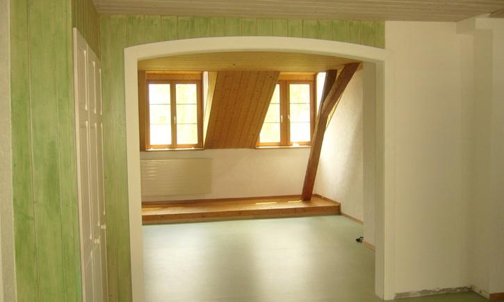 Dachwohnung 5 Zi. ruhig und sonnig 4423 Hersberg Kanton:bl Immobilien 2