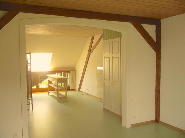 Dachwohnung 5 Zi. ruhig und sonnig 4423 Hersberg Kanton:bl Immobilien 3