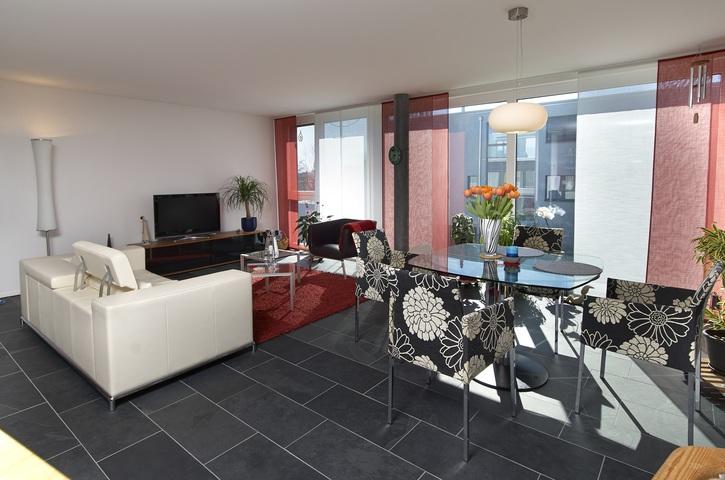 moderne 3.5 Zr. Gartenwohnung mit Bergsicht inkl. NK & EHP 3045 Meikirch Kanton:be Immobilien 3