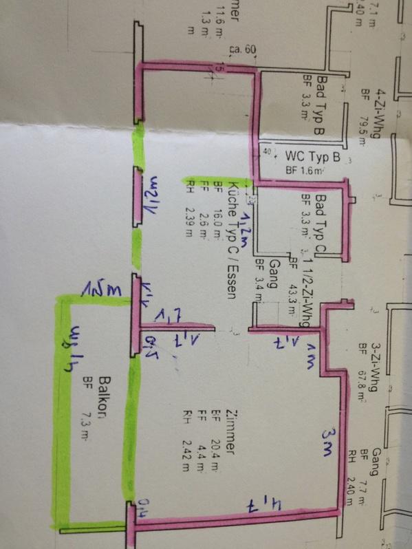 modernes, zentrales Studio, neu renoviert, am HB Winterthur 8400 Winterthur Kanton:zh Immobilien 2