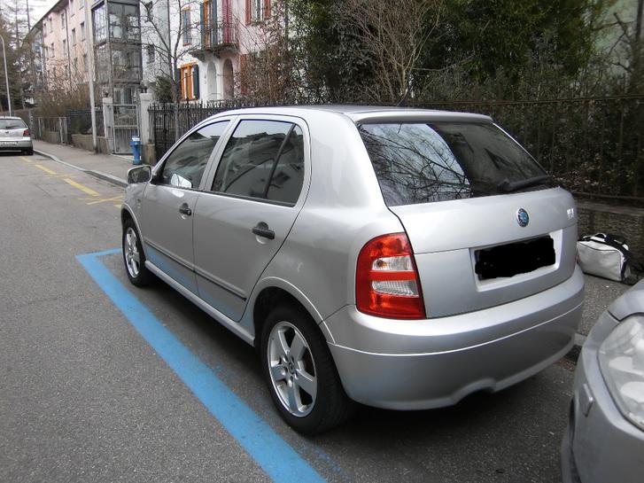 Skoda Fabia Hatchback Classic Fahrzeuge 3
