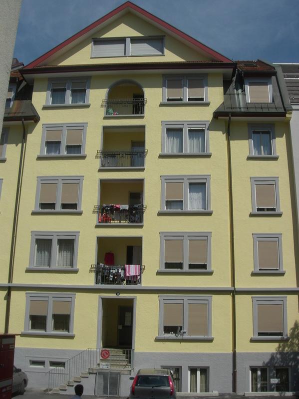 komplett sanierte 3-Zimmerwohnung in ruhigem Quartier 9000 St. Gallen Kanton:sg Immobilien