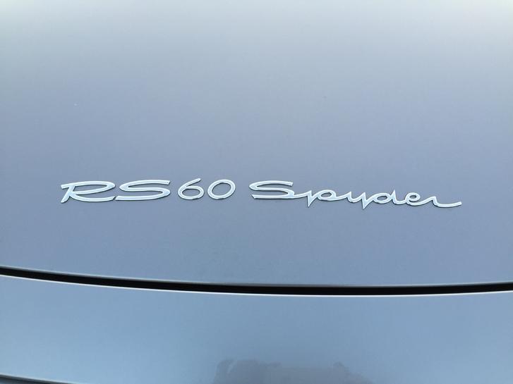 Porsche Boxster S (RS60 Spyder) 987 Fahrzeuge 4