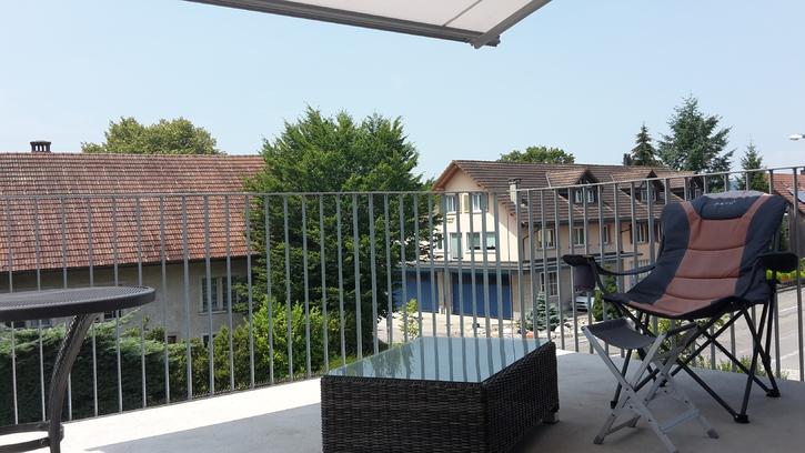 moderne 2,5 Zimmer Attika-Wohnung + begehbarer Kleiderschrank 5243 Mülligen Kanton:ag Immobilien 2