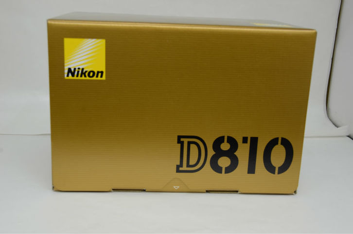 Nikon D810 36.3MP DSLR Foto & Video