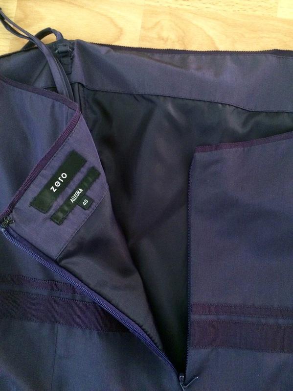 Elegantes Cocktailkleid / Partykleid in violette Kleidung & Accessoires 3