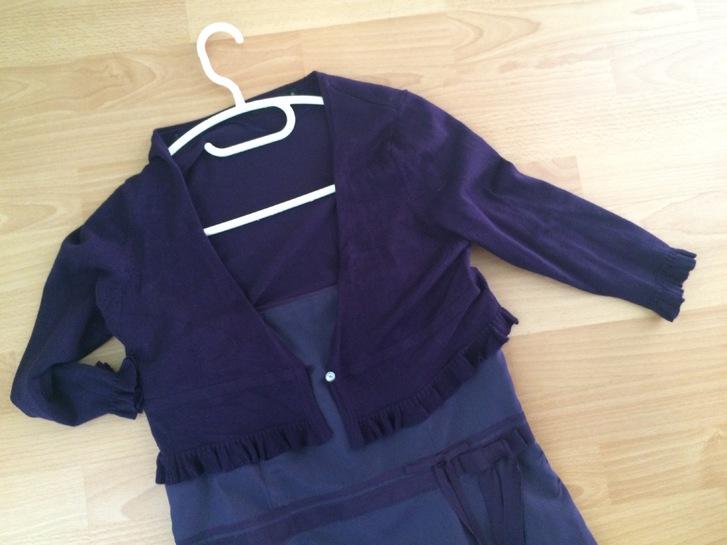 Elegantes Cocktailkleid / Partykleid in violette Kleidung & Accessoires 4