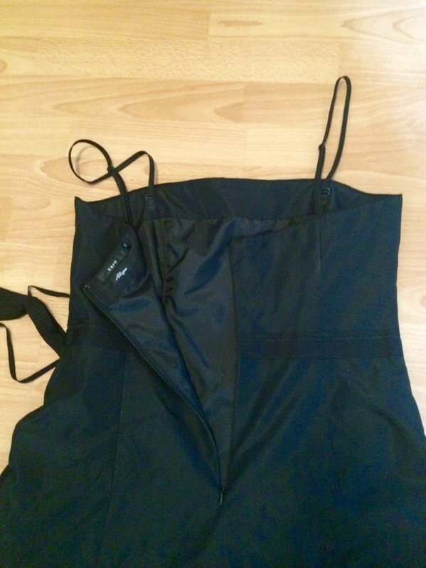 Elegantes Partykleid / Cocktailkleid in schwarz Kleidung & Accessoires 2