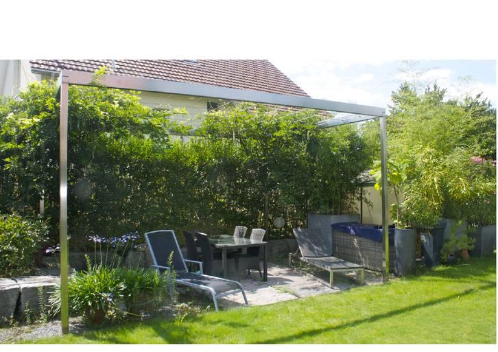 Edelstahl  PERGOLA Garten & Handwerk