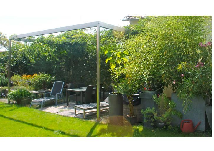 Edelstahl  PERGOLA Garten & Handwerk 2