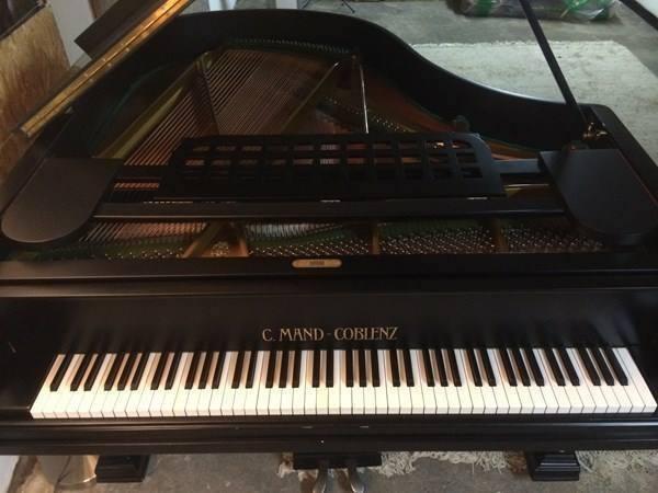 C. Mand-Coblenz Grand Piano Flügel Musik 2