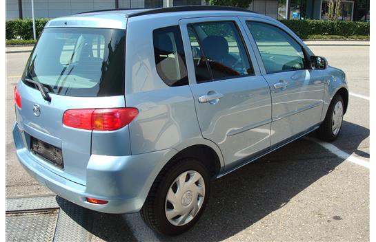 Mazda 2 1,6 16V hellblau 129000km Jg 2004 ab Mfk Fahrzeuge 2