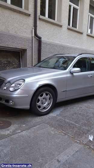 Mercedes E 320 CDI Fahrzeuge