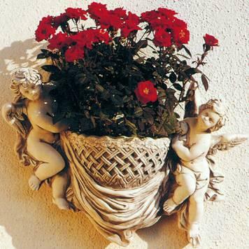 """Bepflanzbare Classico-Figur """"Cestino"""", 38 x 29 cm Garten & Handwerk"""