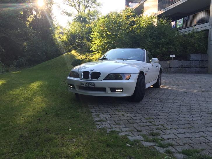 BMW Z3 1.8i weiss frisch ab MFK 28.8.15 Fahrzeuge