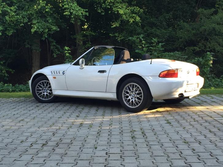 BMW Z3 1.8i weiss frisch ab MFK 28.8.15 Fahrzeuge 2