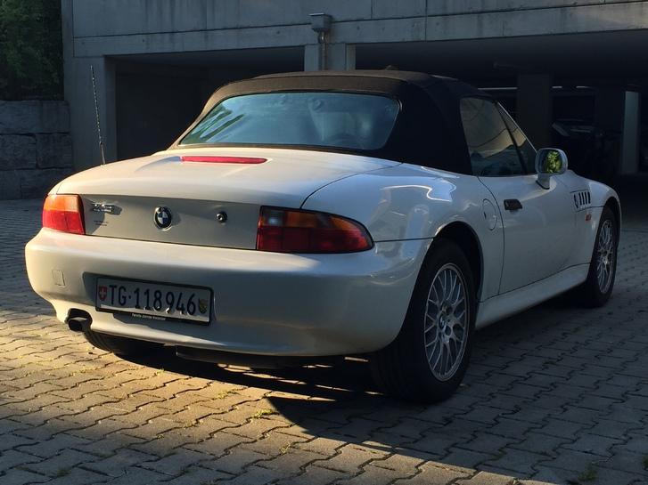 BMW Z3 1.8i weiss frisch ab MFK 28.8.15 Fahrzeuge 3