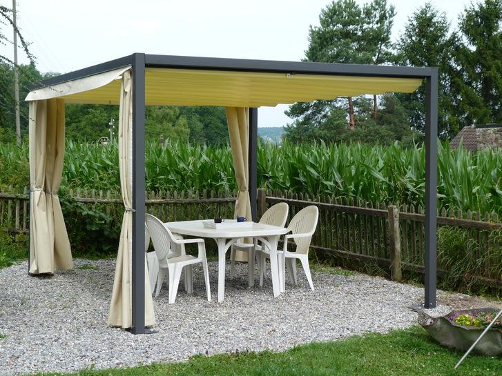 Texbau Pergola , Faltpergola, Pergoladach Garten & Handwerk