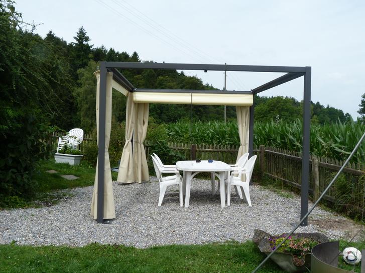 Texbau Pergola , Faltpergola, Pergoladach Garten & Handwerk 2