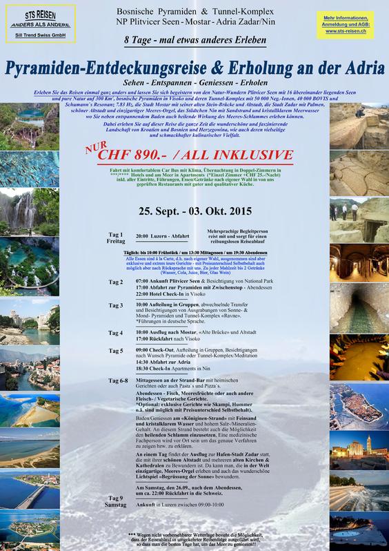Pyramiden-Entdeckungsreise & Erholung an der Adria / All Inklusive / 8 Tage Sonstige