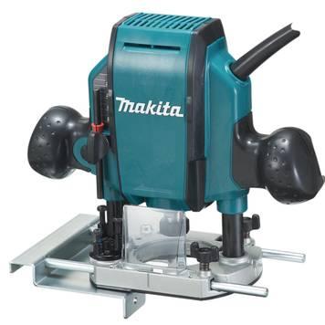 Makita Oberfräse RP0900J, 900 Watt Garten & Handwerk